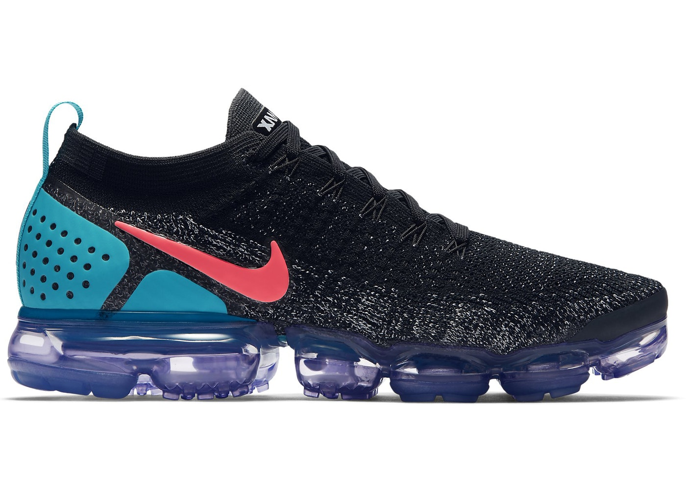 70a5808657d1 Air VaporMax 2.0 Black Hot Punch - 942842-003