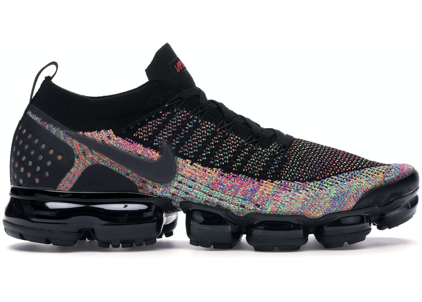 cheaper 4b620 1af9e Air VaporMax 2 Black Multi-Color
