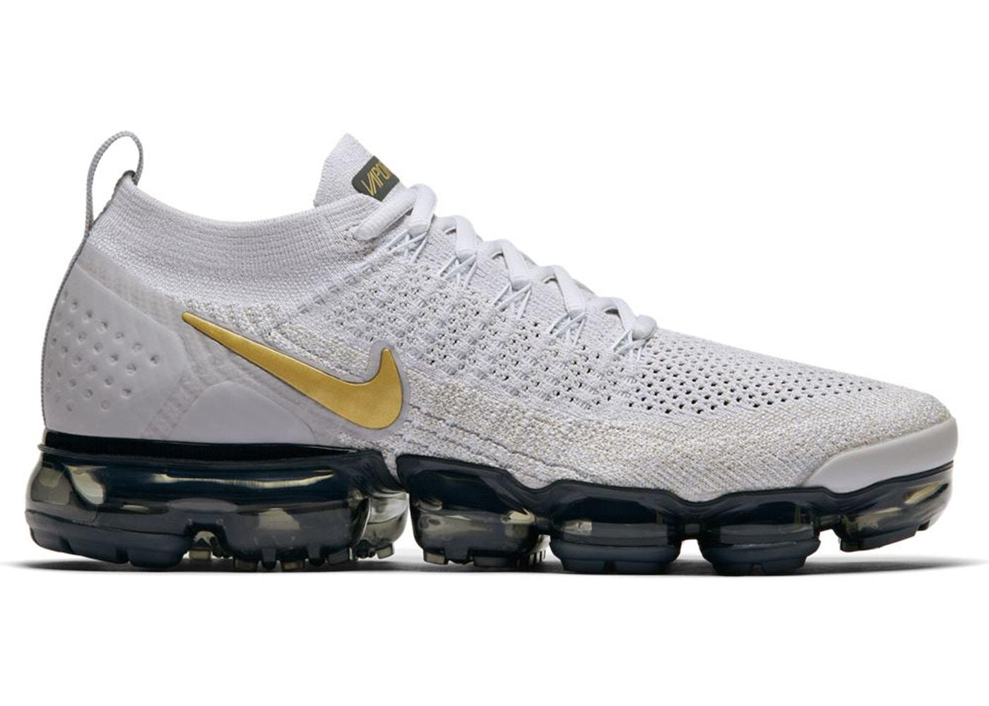 e618b9eabae Nike VaporMax Flyknit Moc 2 Women s Shoe. Nike Air Max Vision  Vast  grey white