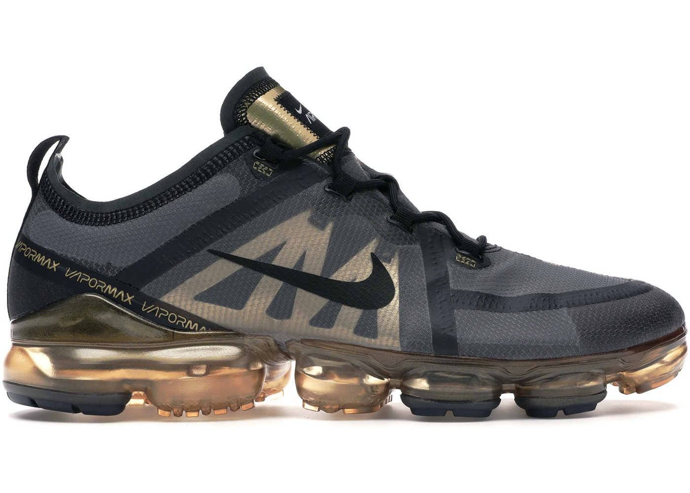 7da611007c Sell. or Ask. Size: 10.5. View All Bids. Air VaporMax 2019 Black Metallic  Gold