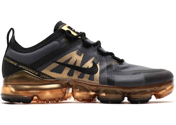 new style 767ba 8ec76 Air VaporMax 2019 Black Metallic Gold