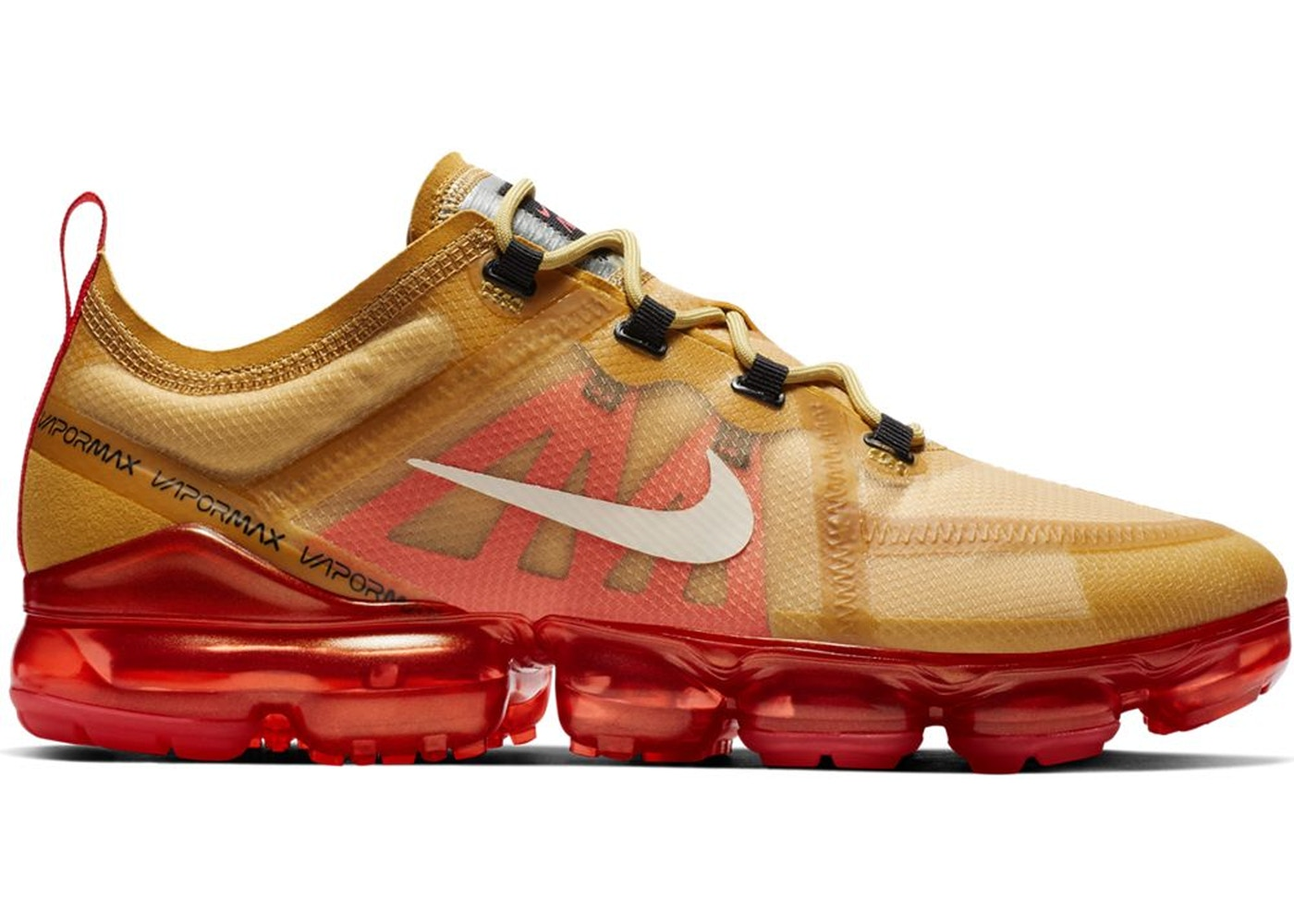 dbc605f3379 Air VaporMax 2019 Club Gold Ember Glow - AR6631-701