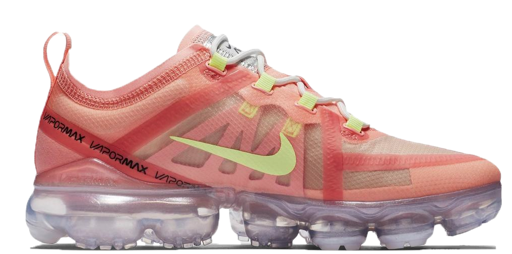 pink and white vapormax