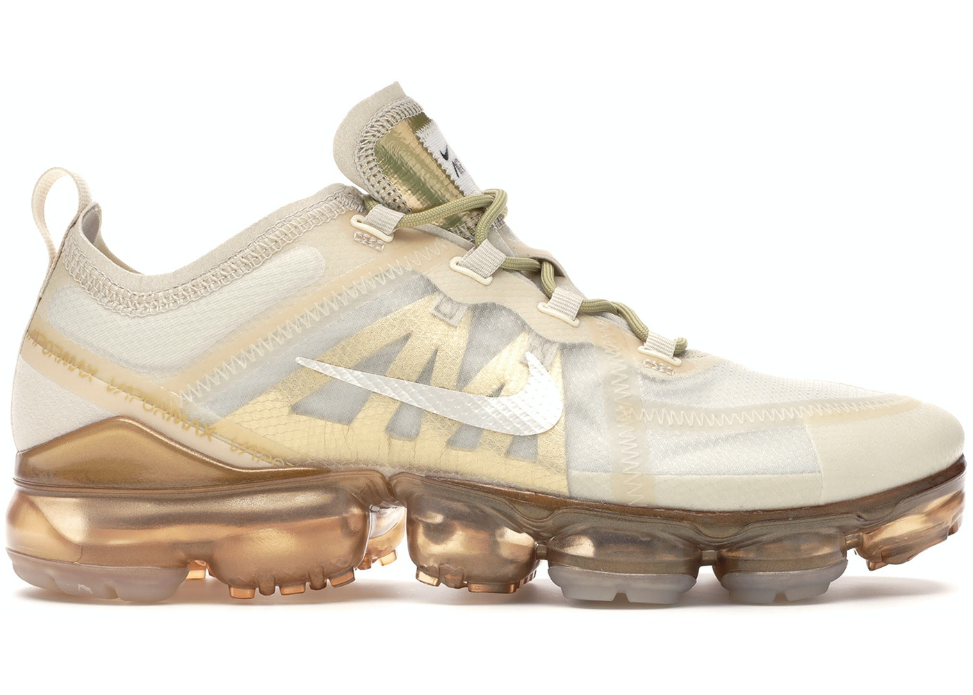 bfc08d2006 Air VaporMax 2019 White Metallic Gold (W) - AR6632-101