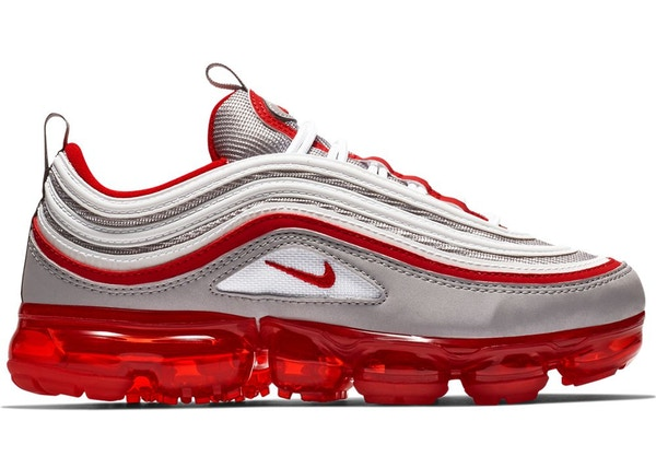 504ebed143 Air VaporMax 97 Atmosphere Grey University Red (GS) - BV1153-002