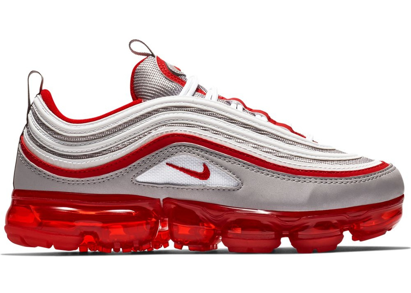 reputable site 3ee28 36858 Air VaporMax 97 Atmosphere Grey University Red (GS)