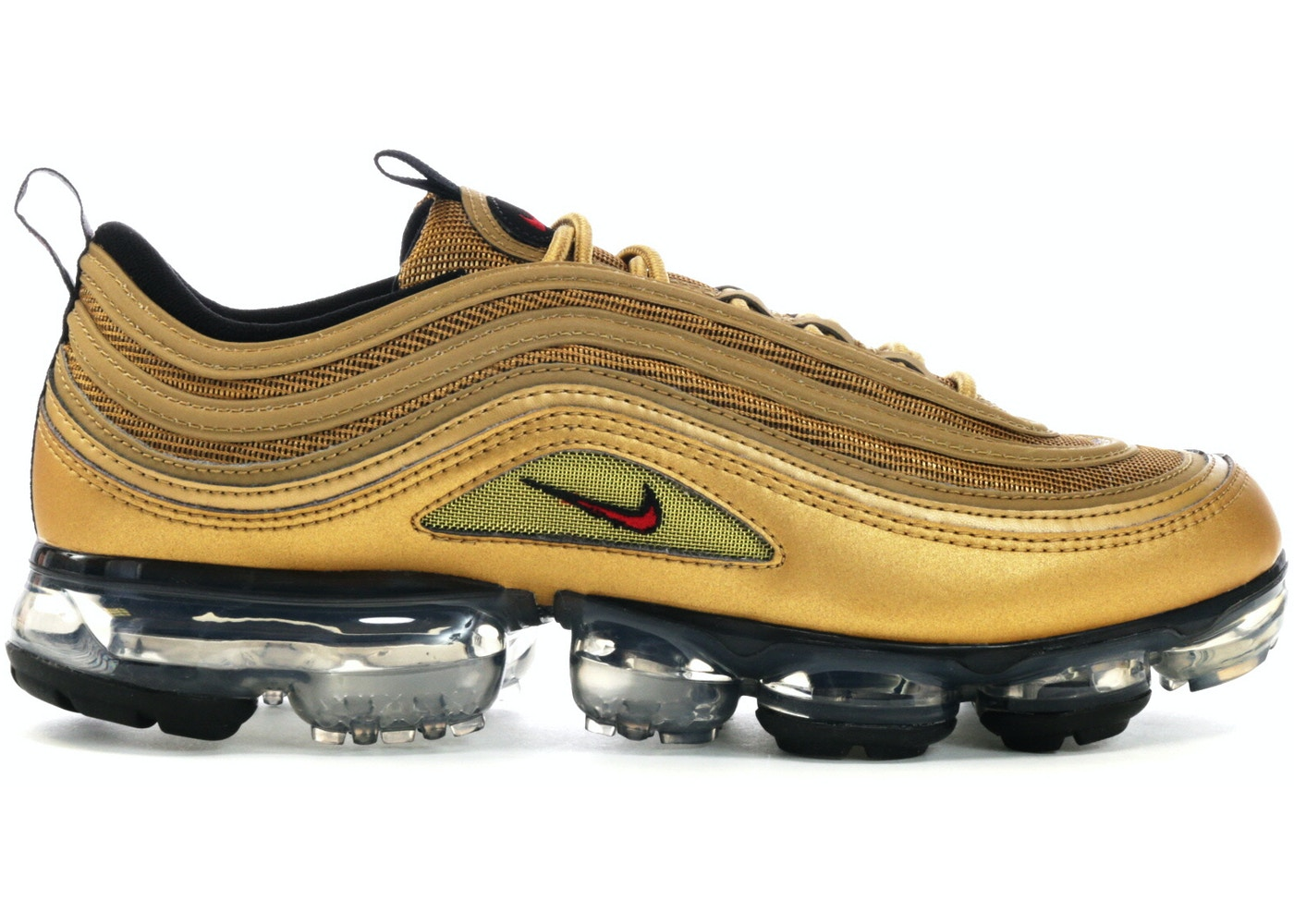 new product 29a71 1288d Air VaporMax 97 Metallic Gold