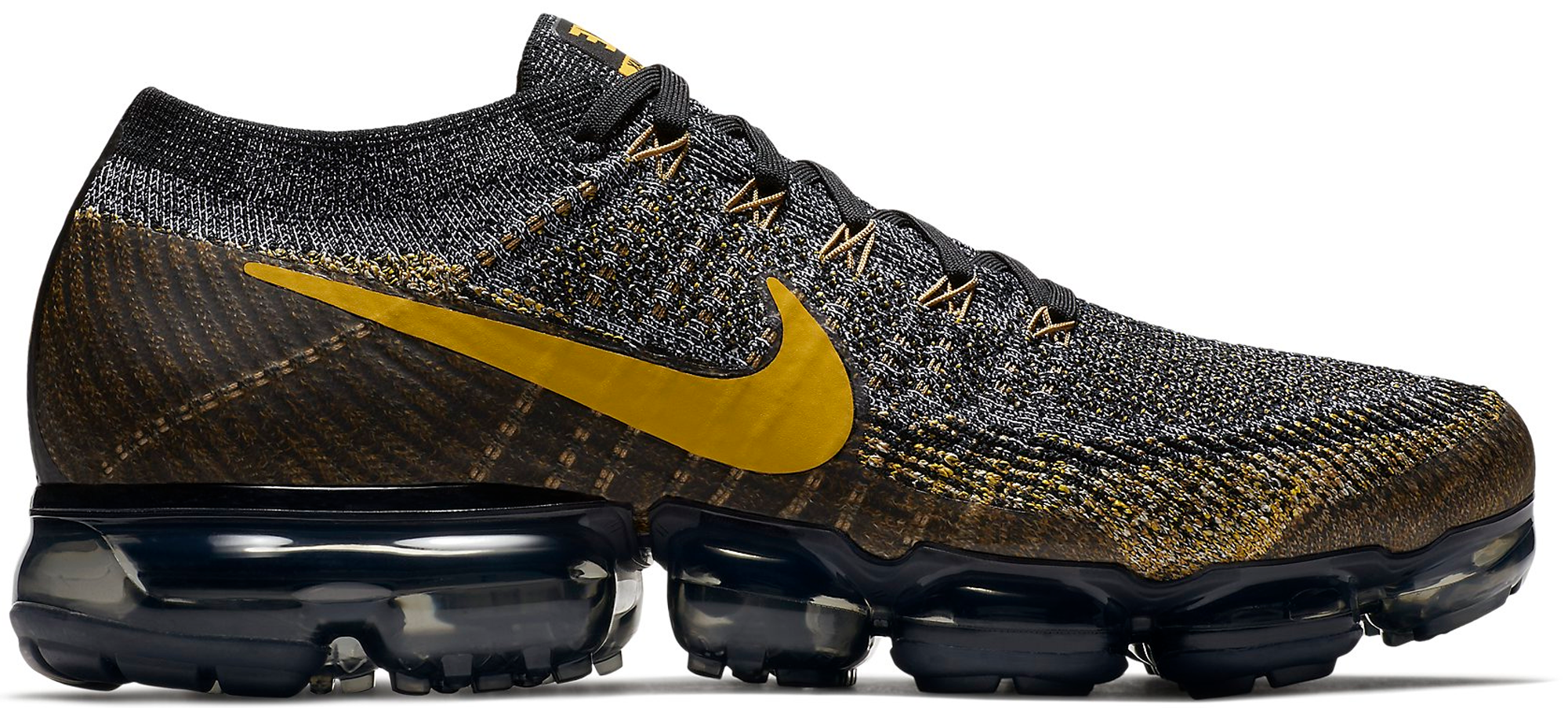 Air VaporMax Black Mineral Gold
