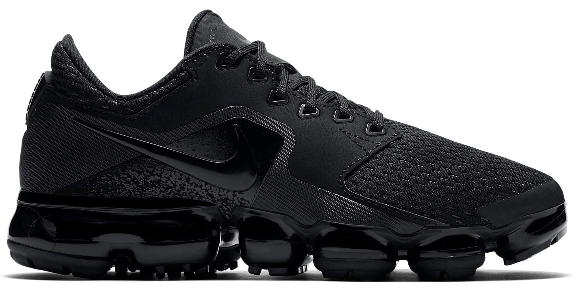 Nike Air VaporMax CS Triple Black (GS