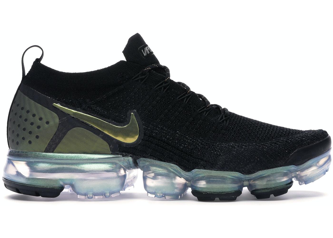 mareado Indulgente en el medio de la nada  Nike Air VaporMax Flyknit 2 Black Metallic Silver Multi-Color - 942842-015