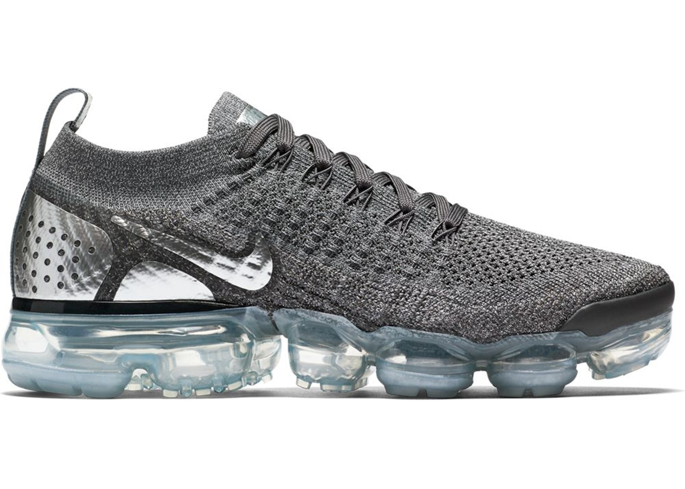 release date: 97593 e8844 Air VaporMax Flyknit 2 Dark Grey Chrome (W)