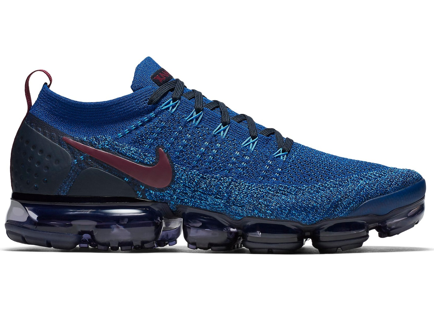 buy popular 0ac79 7d192 Air VaporMax Flyknit 2 Gym Blue