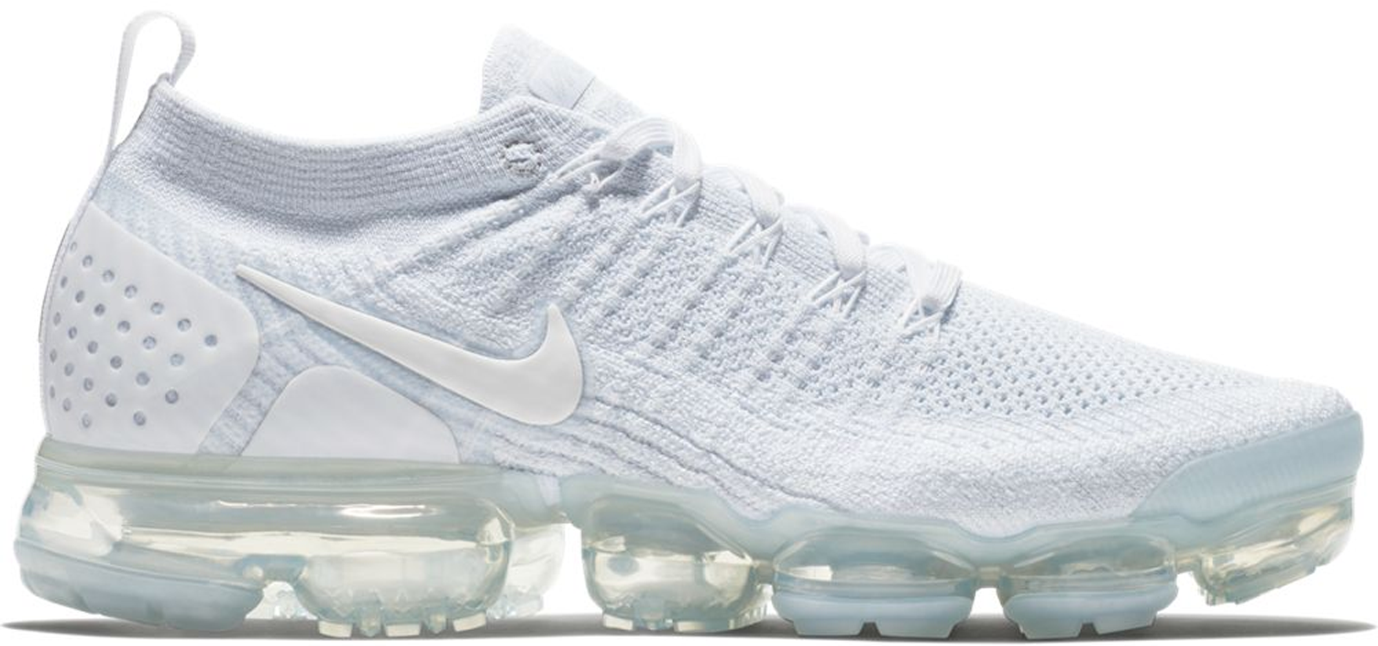 Air VaporMax Flyknit 2 White Pure Platinum