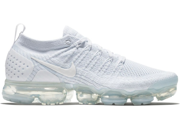 sports shoes d3648 39cd0 Air VaporMax Flyknit 2 White Pure Platinum
