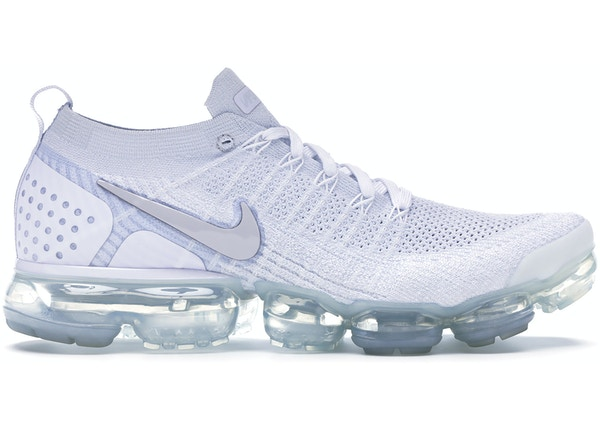 sale uk new collection picked up Nike Air VaporMax Flyknit 2 White Vast Grey - 942842-105