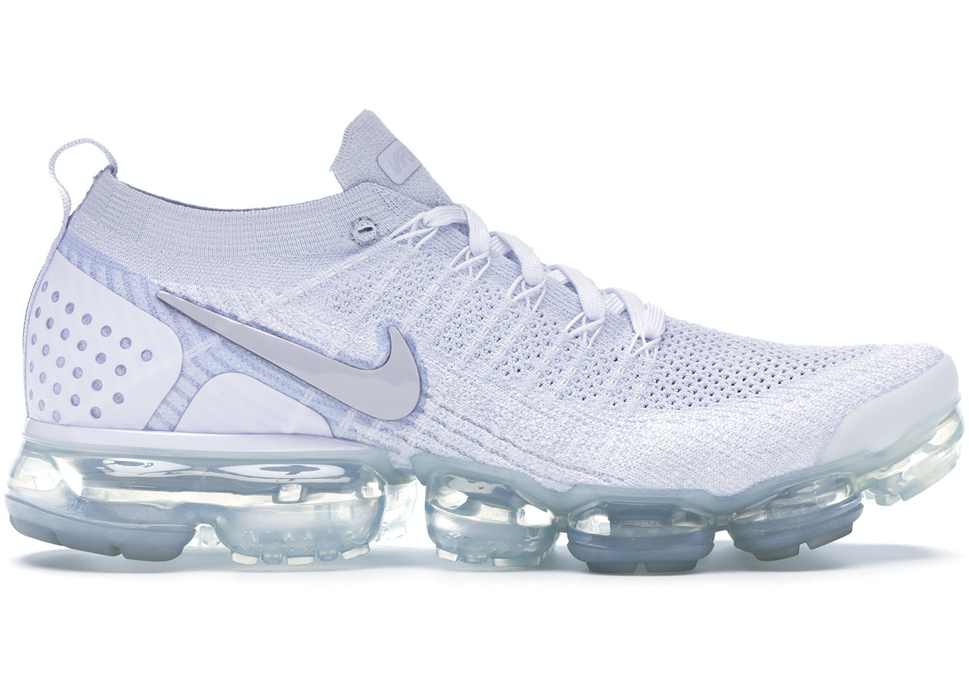 new styles fa5a7 7f2ae Air VaporMax Flyknit 2 White Vast Grey - 942842-105