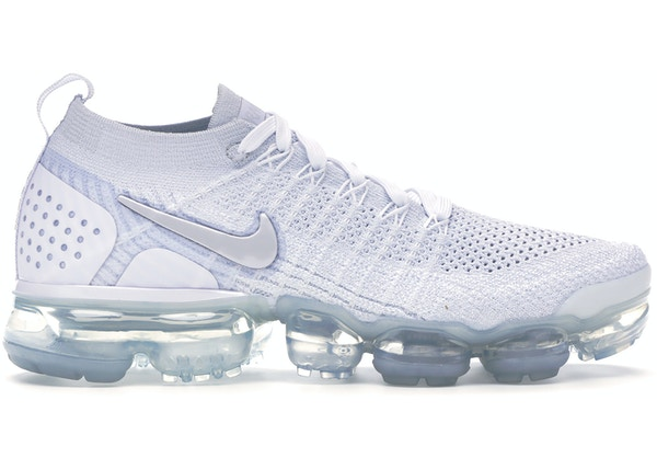 sports shoes 85152 28545 Air VaporMax Flyknit 2 White Vast Grey (W)