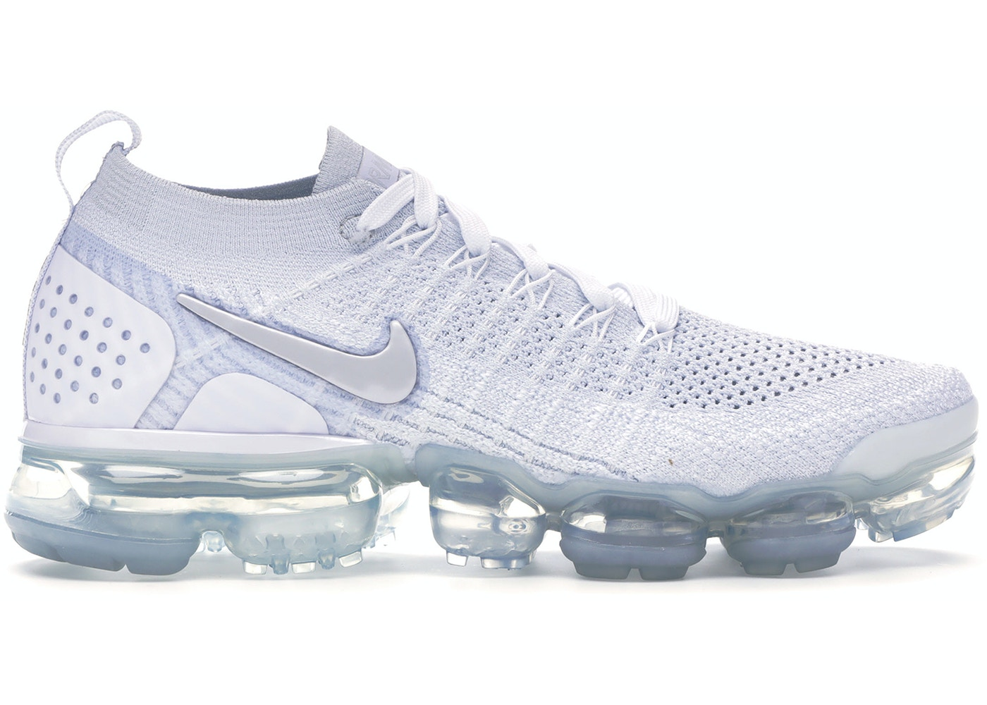 452ed02753f0 HypeAnalyzer · Air VaporMax Flyknit 2 White Vast Grey (W)