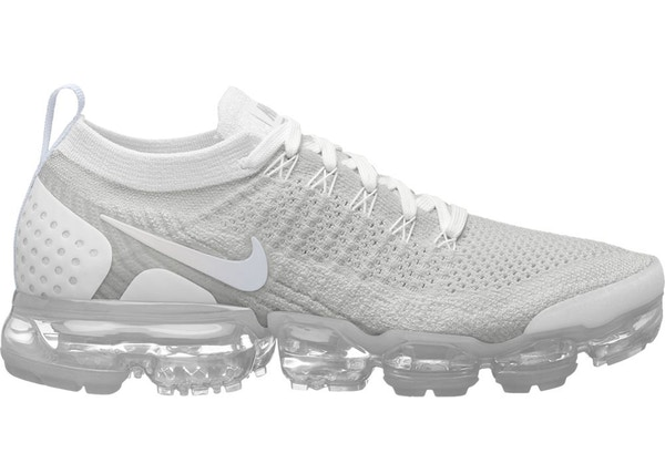 sports shoes bf13e 379cb Air VaporMax Flyknit 2 White Vast Grey (W)