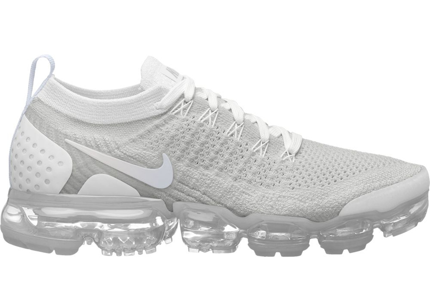 Air VaporMax Flyknit 2 White Vast Grey (W) - 942843-105 06257a556
