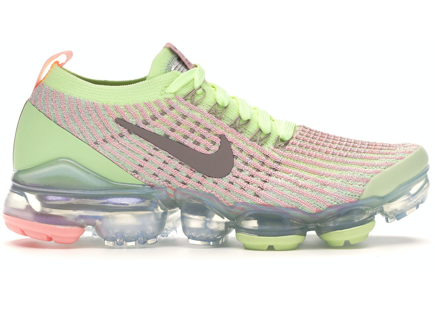 quality design 547ad ba055 Air VaporMax Flyknit 3 Barely Volt Pink Tint (W)