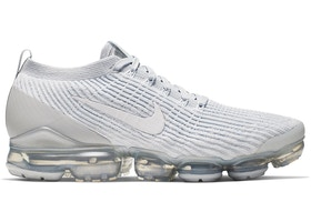 innovative design 675c9 5ff26 Air VaporMax Flyknit 3 White Pure Platinum