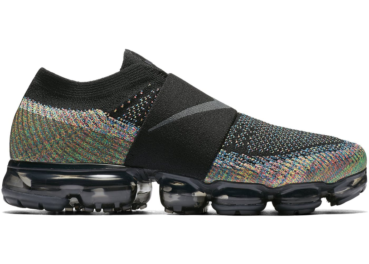 889fdbd466 ... Black Nike Shows Off Upcoming Laceless VaporMax Moc in Air VaporMax Moc  Multi-Color . ...