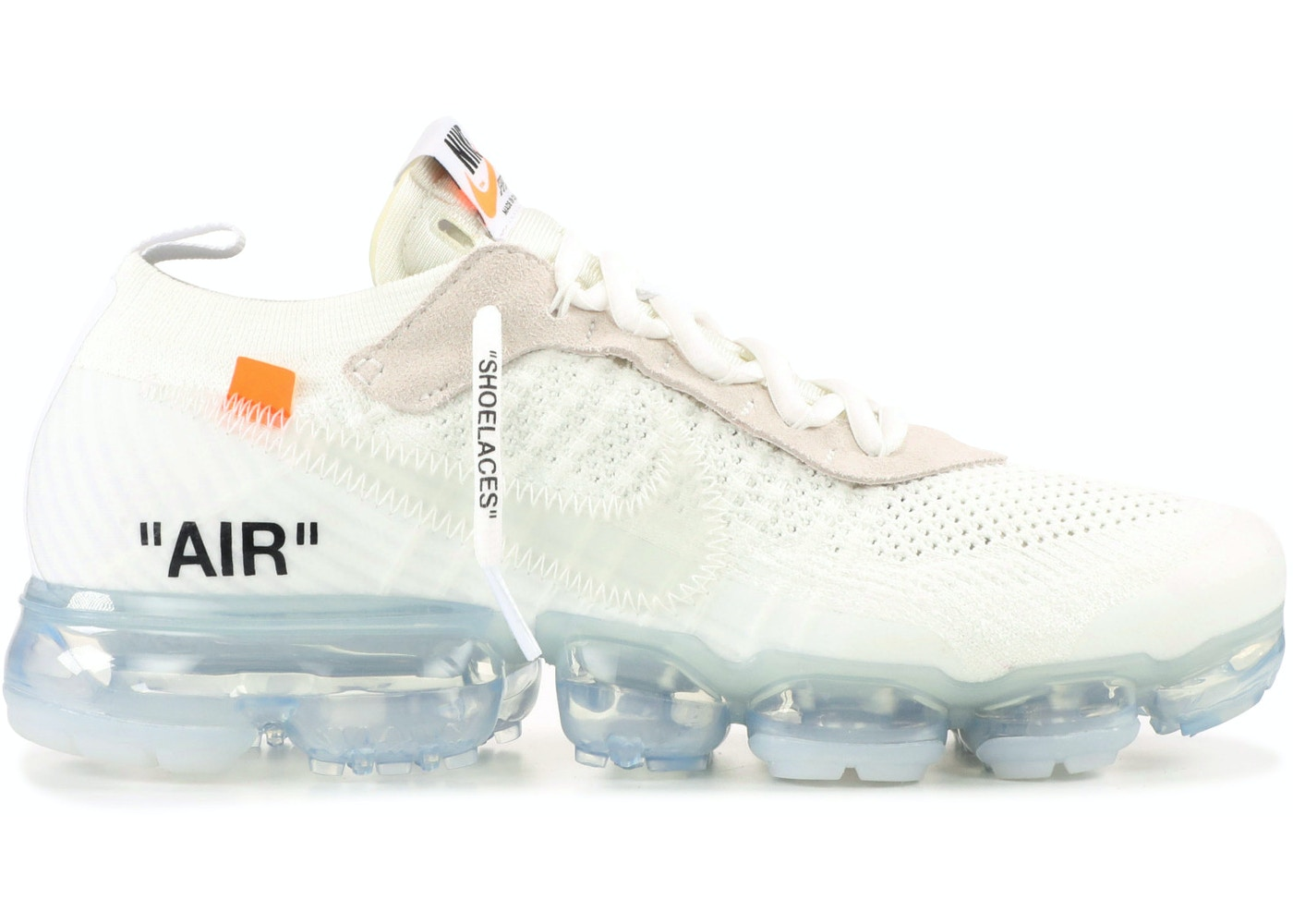 sale retailer 50a91 55419 Air Vapormax Off White 2018 - AA3831-100
