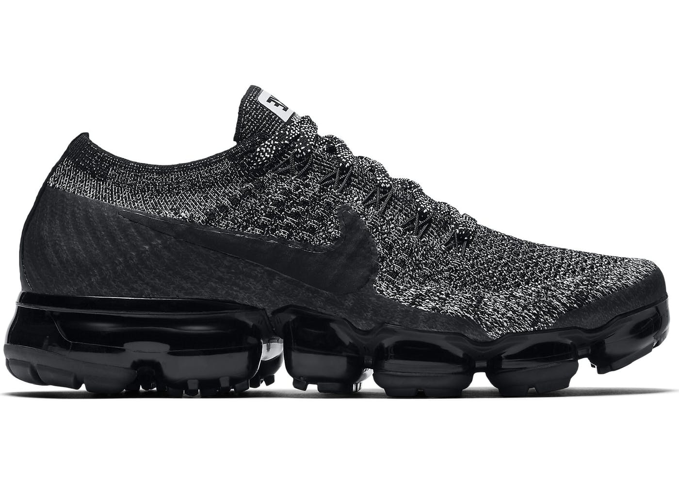 Nike W Air Vapormax Flyknit (Pale Grey, Black & Sail) End