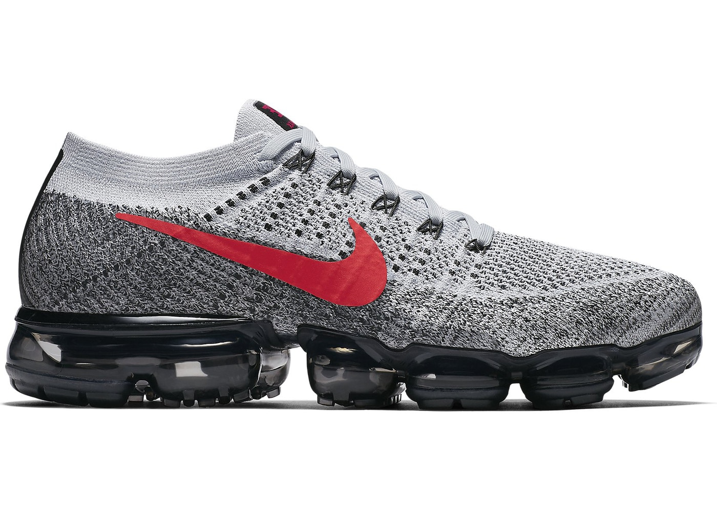 Air VaporMax Platinum Red Black - 849558-020 5f2ea91fc90a