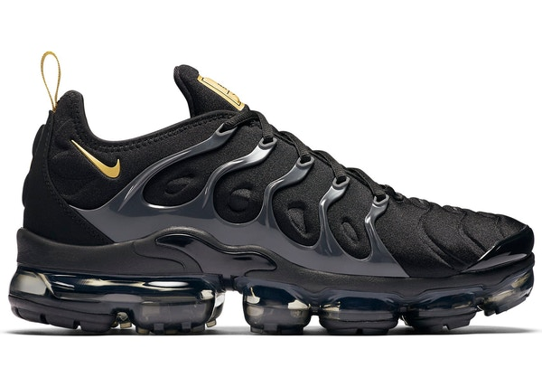 675ba67bfd Air VaporMax Plus Black Metallic Gold Anthracite - BQ5068-001