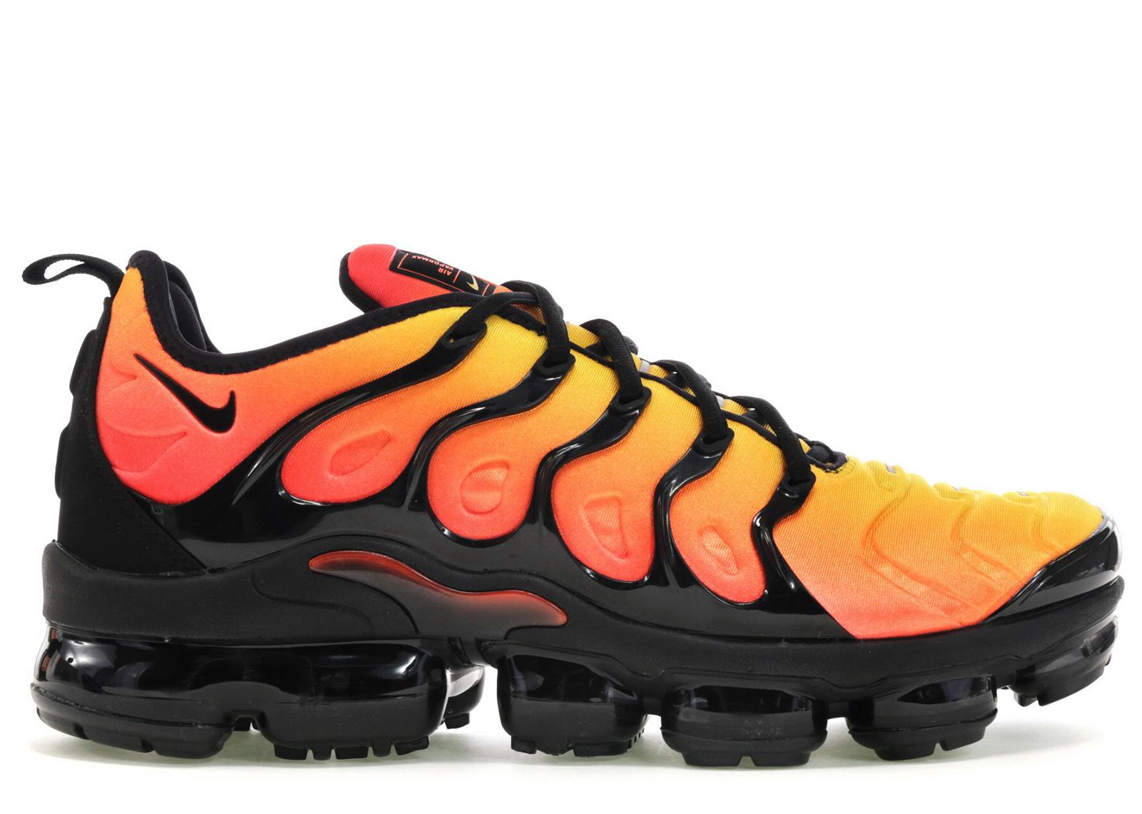 Nike Air VaporMax Plus Black Orange