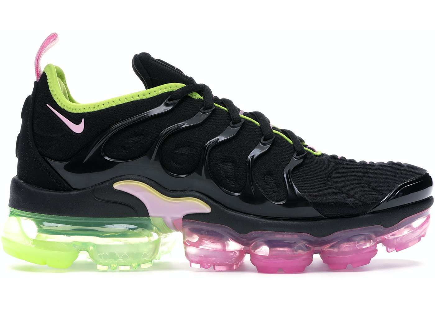 official photos 96908 33191 Air VaporMax Plus Black Pink Rise Volt (W)