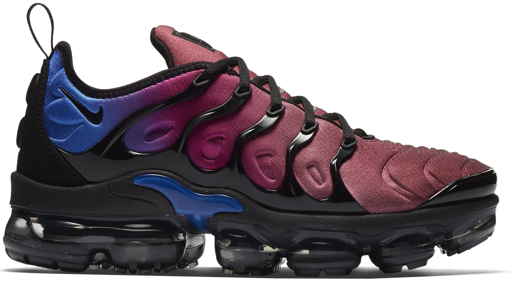 Air VaporMax Plus Black Team Red Hyper Violet (W)