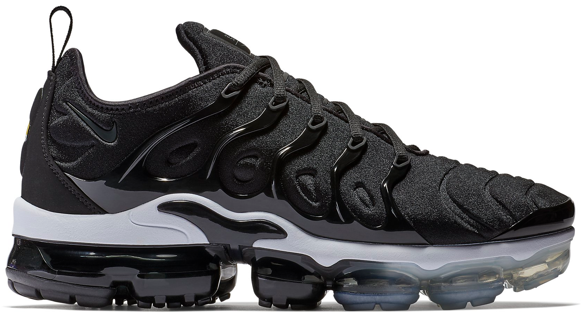 833fa9651bed4 inexpensive nike air vapormax plus mens shoe 2a143 db920  usa air vapormax  plus black white 34f7c e8b0e