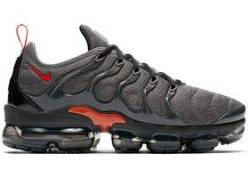 wholesale presenting utterly stylish Nike Air VaporMax Plus Cool Grey Team Orange - 924453-012