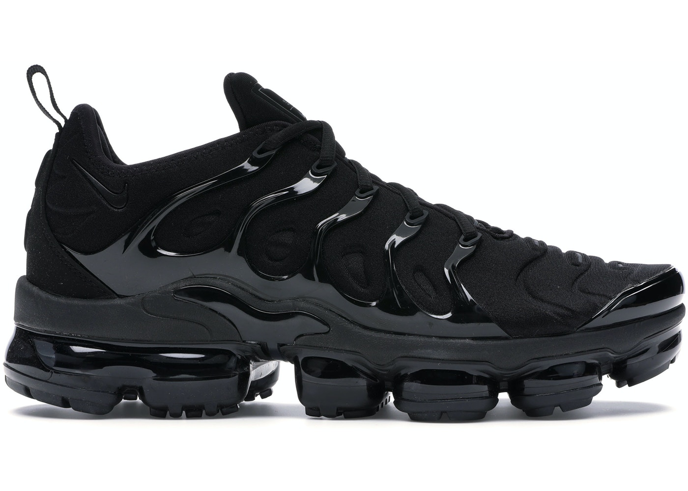 online store d5f7f a3a47 Air VaporMax Plus Triple Black