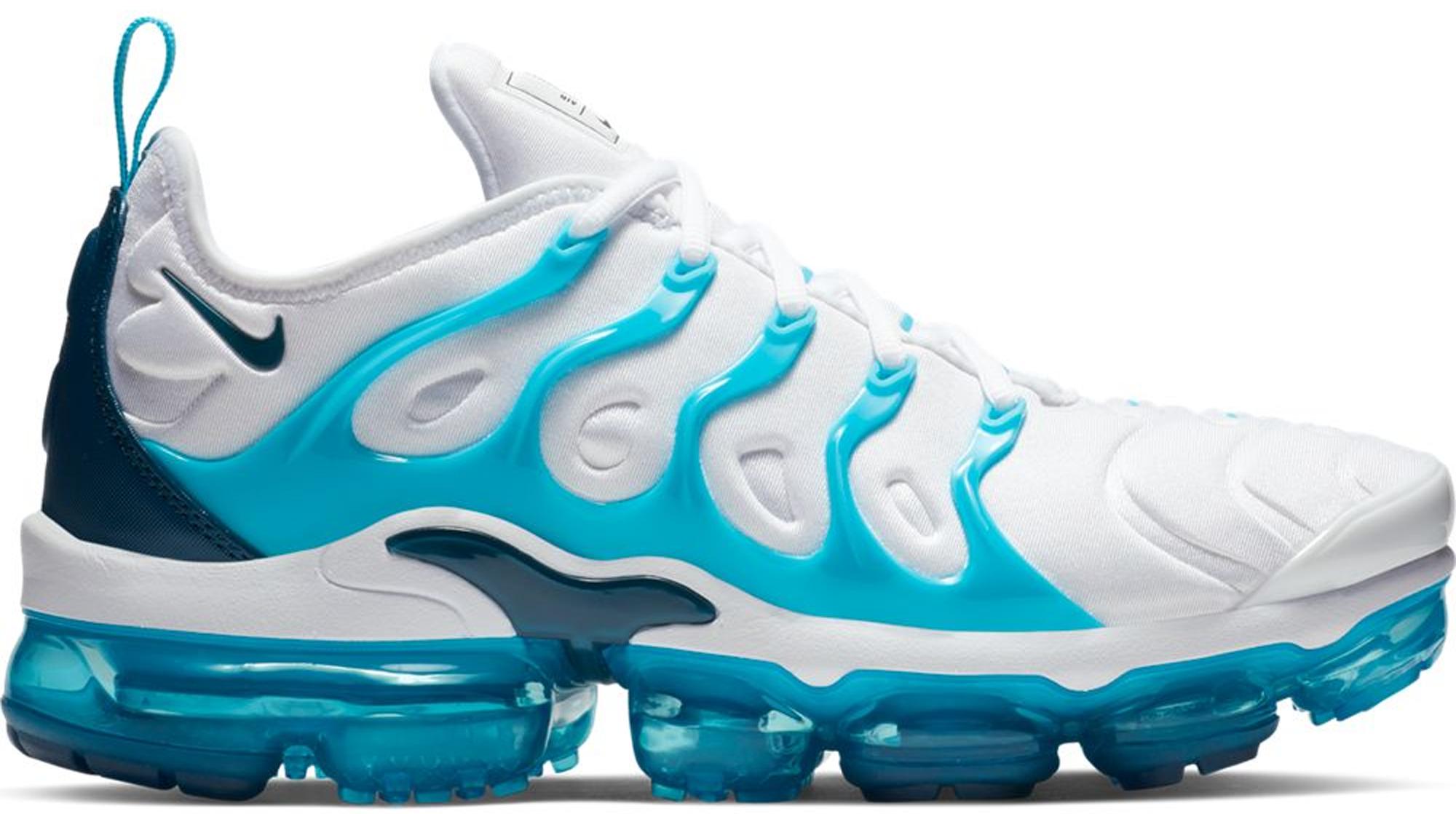 Nike Air VaporMax Plus White Blue Force