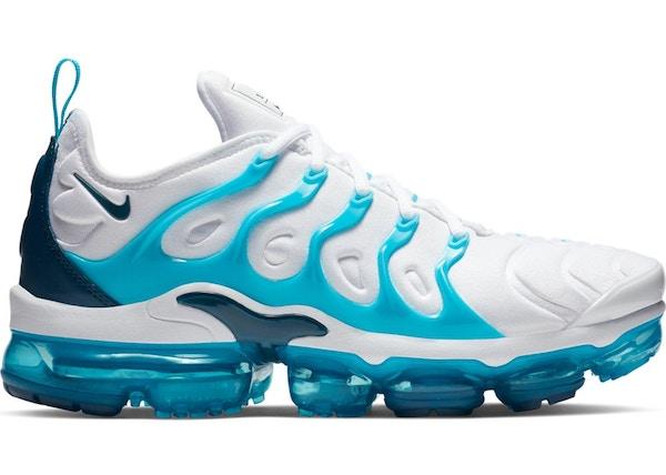 Nike Air Vapormax Plus White Blue Force Blue Fury 924453 104