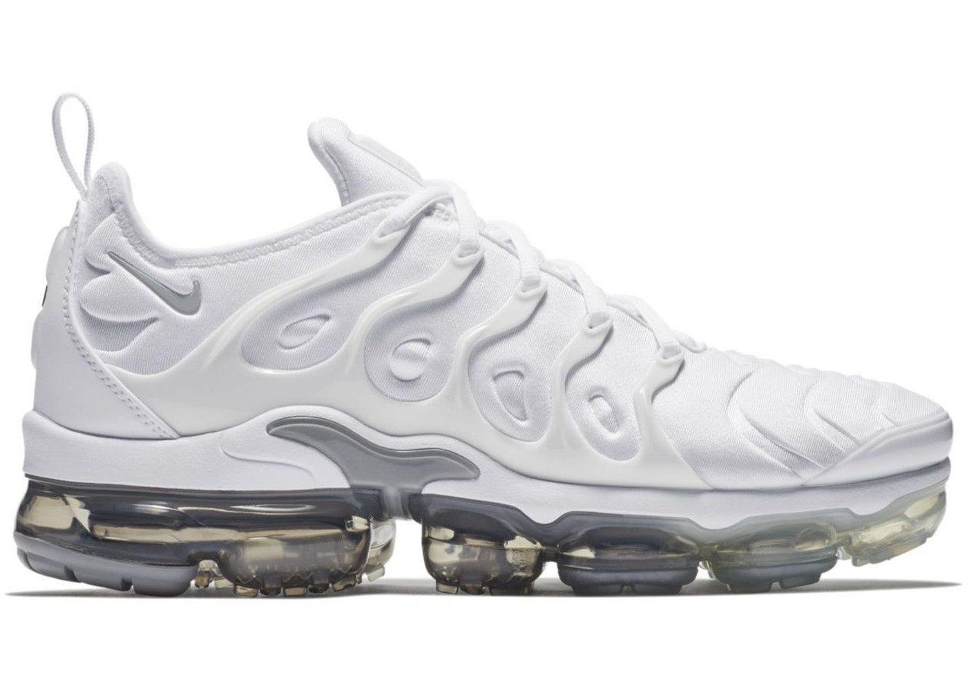 c95bc18a1d7 Air VaporMax Plus White Pure Platinum - 924453-102