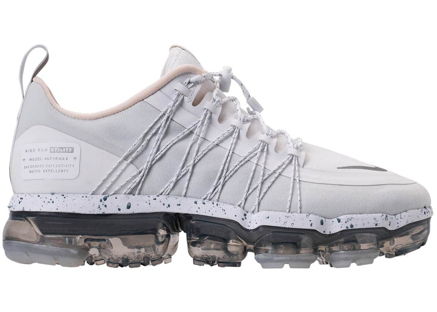 9e4820a5a1b0 Air VaporMax Run Utility White Reflect Silver (W) - AQ8811-100