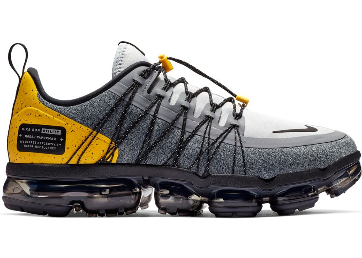 325b86cf9df Air VaporMax Run Utility Wolf Grey Amarillo - AQ8810-010