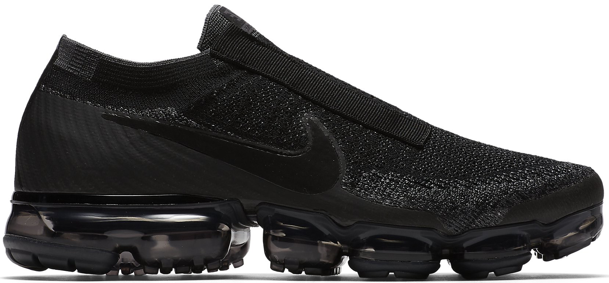 Air VaporMax SE Laceless Triple Black