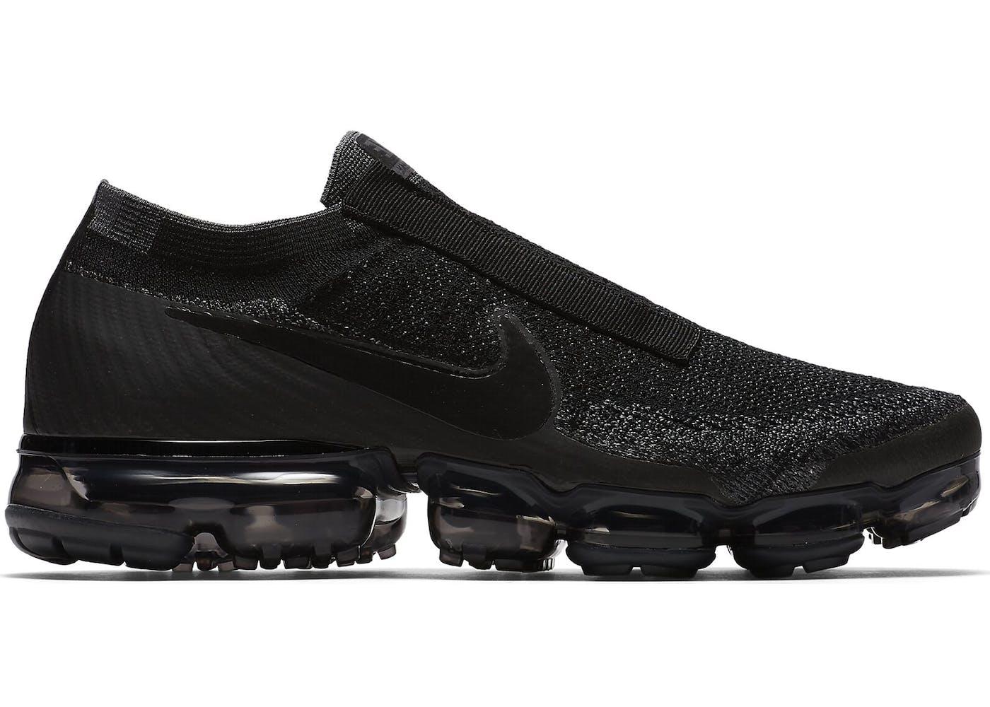 Nike Vapormax Black Laceless