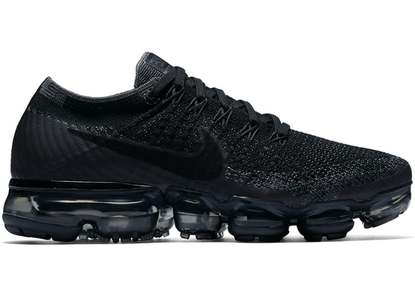 Cheap Nike Air VaporMax Black Red Women 003 online cheap sale