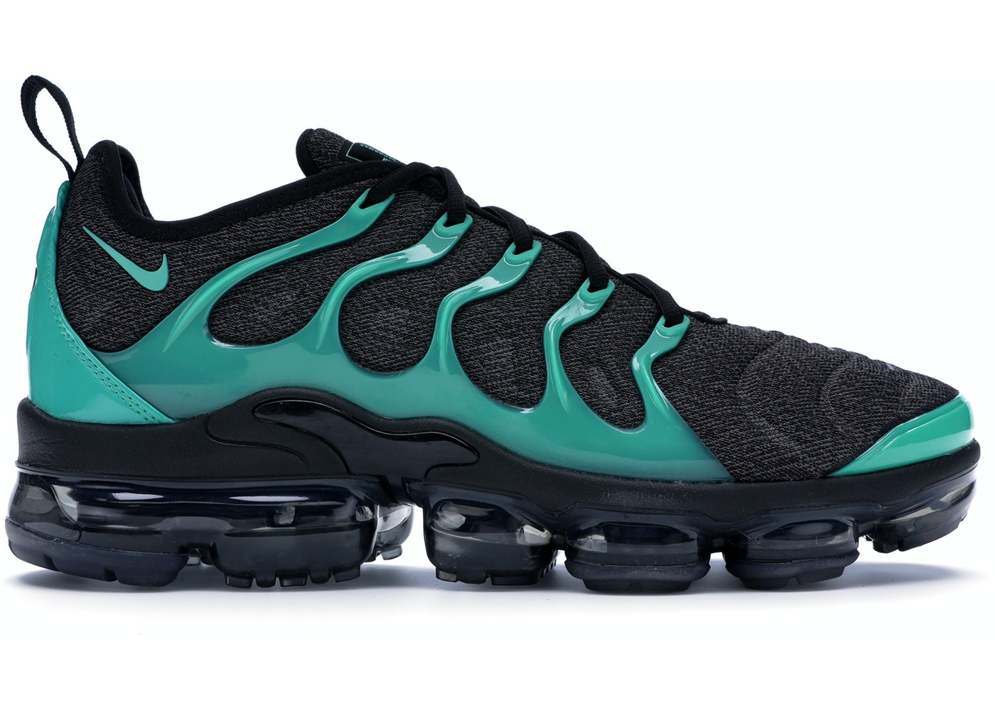 best website 12bf2 3bed7 Air VaporMax Plus Black Clear Emerald