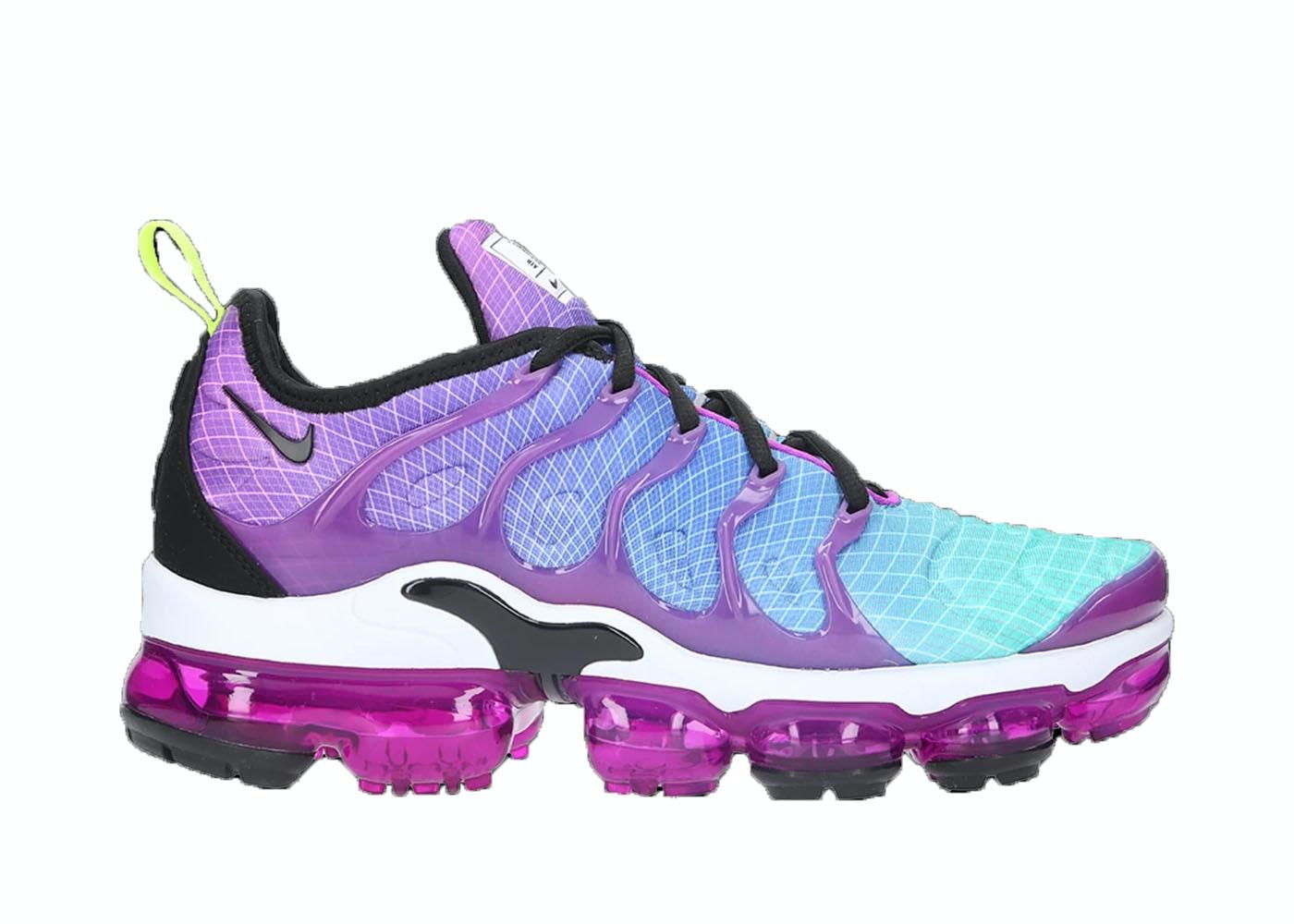 Relajante Revelar caloría  Nike Air VaporMax Plus Trainer Black White Footasylum