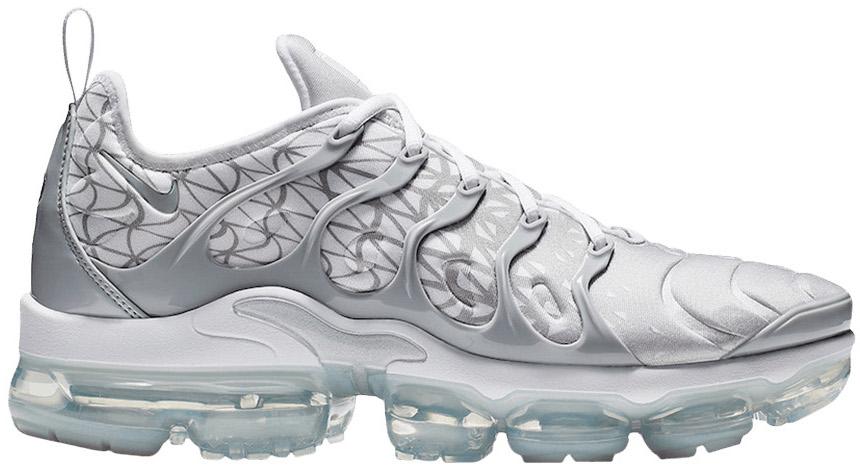 Nike Air Vapormax Plus Silver White