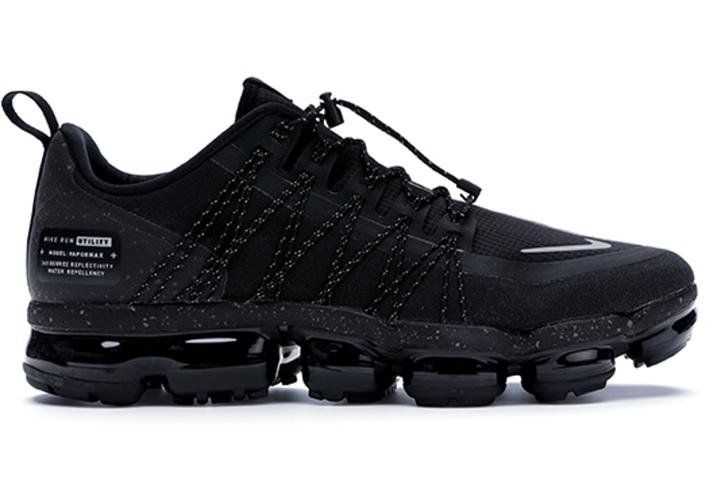 factory authentic b5d52 898c2 Air VaporMax Run Utility Black Reflect Silver