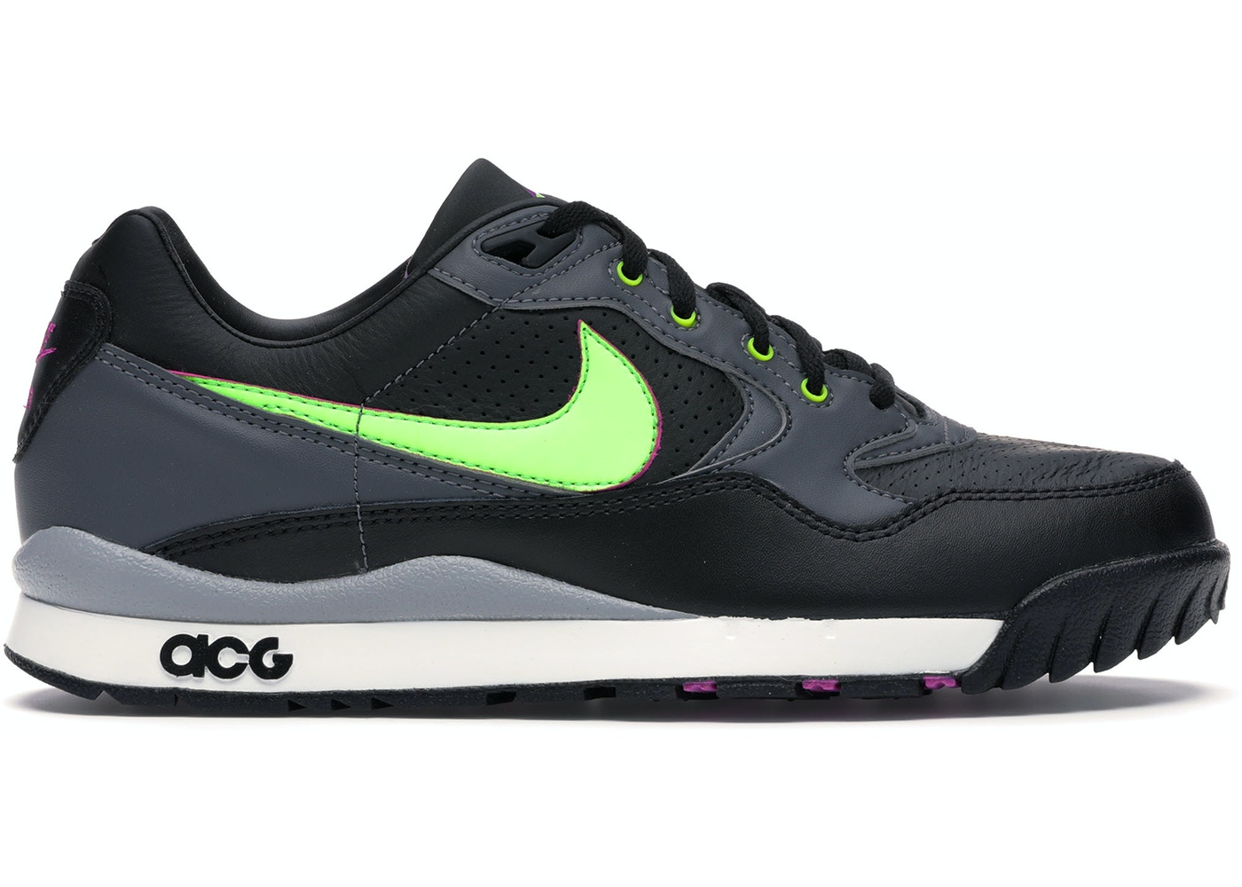 Embajador proposición Continente  Nike Air Wildwood ACG Black Electric Green — HypeAnalyzer